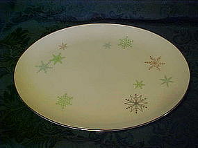 Harmony House China, Snowflake oval platter