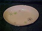 Harmony House China, snowflake oval serving bowl