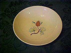 Stetson pine cone branch pattern sauce  dessert bowl