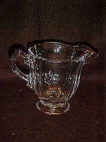 Fostoria Baroque crystal creamer