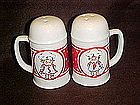 Campbell's soup range size salt and pepper shakers