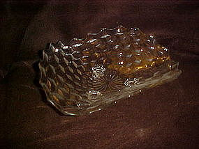 Fostoria American three corner centerpiece bowl 11""