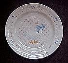 Aunt Rhody Blue goose salad plate, Tienshan