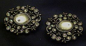 Pair of vintage scatter pins