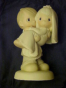 Precious Moments, Bless you two figurine, couple cake topper