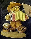 Bears around the world,  Germany, resin figurine