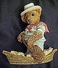 Bears around the world, Italy resin figurine