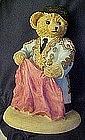 Bears around the world, Spain, resin figurine