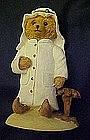 Bears around the world, Arab, resin figurine