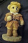 Bears around the world, England, resin figurine