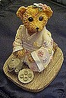 Bears around the world, Japan, resin figurine