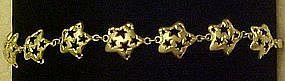 Sterling silver stars ,bracelet
