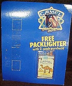 Camel cigarettes pack lighter premium, in pkg