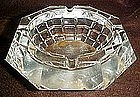 Vintage cut glass ashtray, waterford crystal