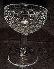 Fostoria Americal crystal champagne / tall sherbert