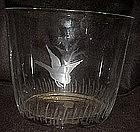 Imperial glass, Mallards ice bucket