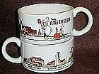 Pea Soup Andersens soup mugs, Hap-Pea, Pea-Wee