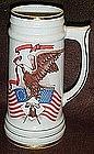 Viletta bicentennial porcelain beer stein