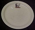 Cattlemans restaraunt ware dinner plate, Herford logo