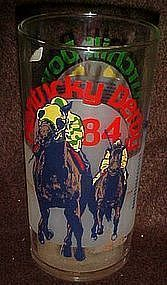 Kentucky Derby souvenir julep glass 1984