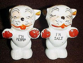 Vintage Bonzo dog salt and pepper shaker set