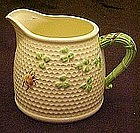 Norcrest beehive pitcher, imitation Beleek