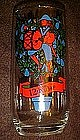 Pepsi twelveth day of Christmas glass, twelve drummers