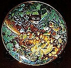 Bill Bell St. Catrick's day collector plate, box and co