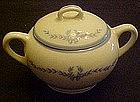 WS George, derwood blue laurel garland, sugar bowl