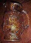 Anchor Hocking Rainflower pitcher, gold