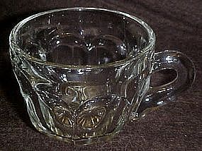 Heisey colonial punch cup, star bottom