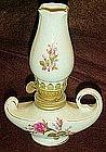 Small Moss Rose  ceramic oil lamp, Perfect