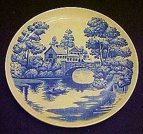 "Nasco Lakeview 9 1/4"" luncheon plate"