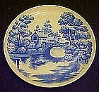 """Nasco Lakeview 9 1/4"""" luncheon plate"""