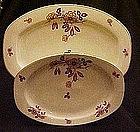 TK Thuny Czechoslovakia, Imari flower  platter