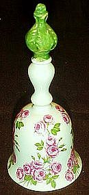 Bad Bruckenauer Germany, porcelain bell with Roses