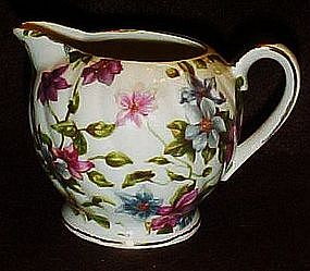 Adorable chintz flowers creamer