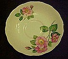 Bone china saucer with cherry blossoms, by Mayfair