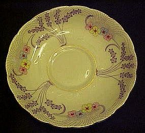 Colclough  replacement  bone china saucer, deco style