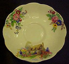 Royal Albert Crown China saucer, a bit of old England