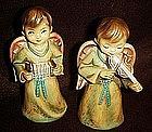Vintage Christmas Angels figurines, boy angels