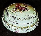 Royal Saxe Germany  hand painted porcelain vanity box