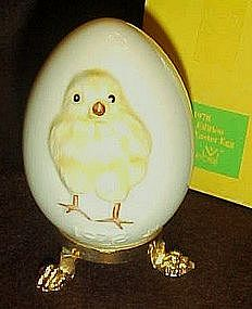1978 Goebel First addition Annual Easter Egg, chick
