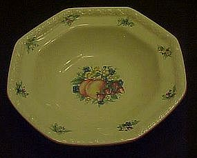 Sweet Country Harvest rimmed soup bowl , Avon