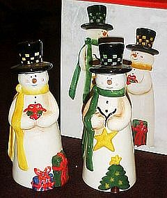 JC Penny Home collection  Merry snowman shakers