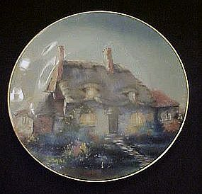 Lullabye Cottage Cottage collector plate by Marty Bell