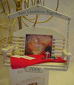 Hallmark First Christmas together 2006 ornament, MIB