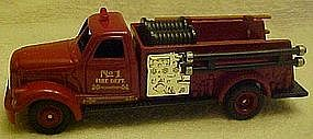 1954 Ahrens-Fox Fire truck replica, Readers Digest