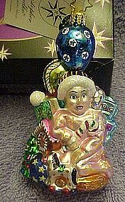 Christopher Radko Christmas Making magic ornament