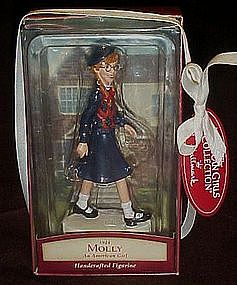 Hallmark American Girls 1944 Molly Keepsake figurine